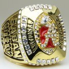 2011 Alabama Crimson NCAA Football Championship ring replica size 11 US solid back