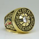 1980 Los Angeles Lakers  Basketball NBA Championship Ring 8-14 Size Name JOHNSON
