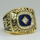 1985 Kansas City Royals world series Championship Ring 8-14 size BRETT