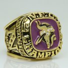 1973 Minnesota Vikings AFC super bowl Championship Ring 11 Size