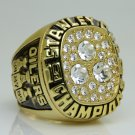 1987 Edmonton Oilers Stanley Cup Championship ring 11 Size