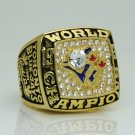 1993 Toronto Blue Jays world series Championship Ring 11 Size