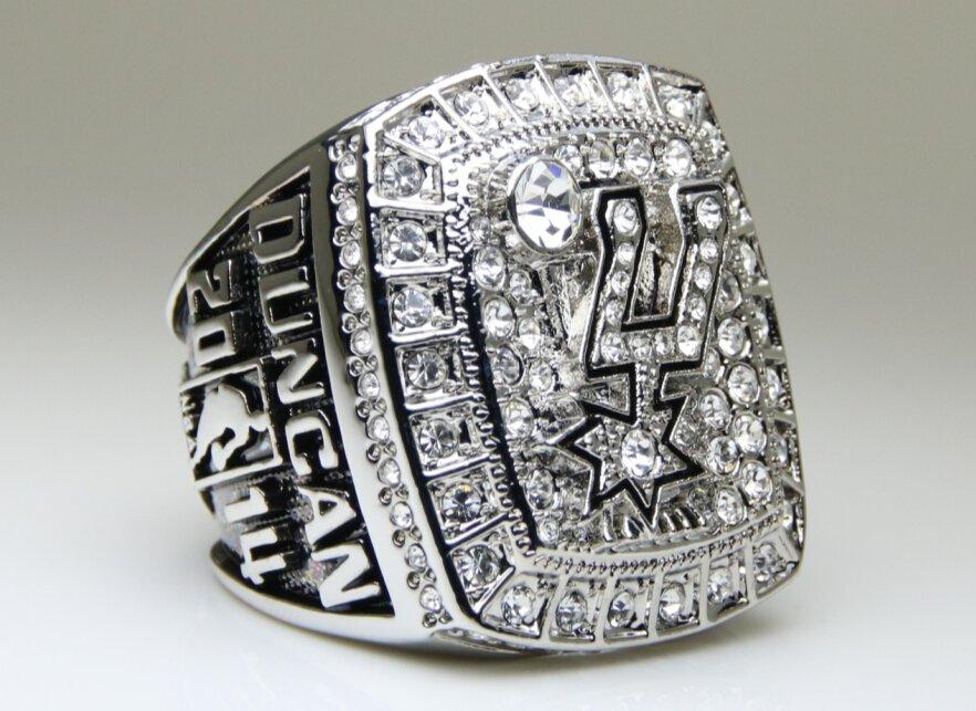 2014 San Antonio Spurs Basketball Nba Championship Ring