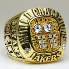 2001 Los Angeles Lakers  Basketball NBA Championship Ring 10 Size