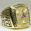 2002 Los Angeles Lakers  Basketball NBA Championship Ring 10 Size