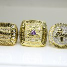 One Set 5 PCS 2000 2001 2002 2009 2010  Los Angeles Lakers NBA Championship Ring 10S Kobe Bryant