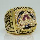 2001 Colorado Avalanche Hockey Stanley Cup championship ring 11 Size
