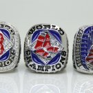 Boston Red Sox set 3 PCS 2004 2007 2013 world series Championship Ring 11 Size