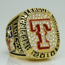 2010 TEXAS RANGERS American League Baseball Championship Ring 11 Size