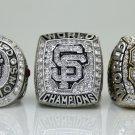San Francisco Giants Sets 3PCS 2010 2012 2014  world series Championship Ring 11S