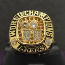 Special memoriable ring for 2001 Los Angeles Lakers ring with KOBE name