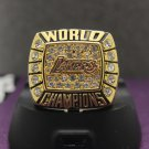 Special memoriable ring for 2000 Los Angeles Lakers ring with KOBE name
