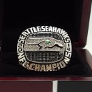 2014 Seattle Seahawks NFC super bowl Championship Ring 8-14 Size copper solid