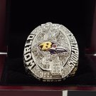 2012 Baltimore Ravens super bowl Championship Ring 8-14S copper solid ingraved inside