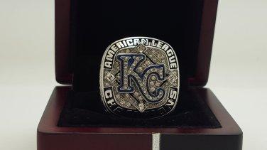 2014 Kansas City Royals American League Championship Ring 8-14 size PEREZ