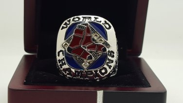 2007 Boston Red Sox world series Championship Ring 8-14 Size Name ORTIZ