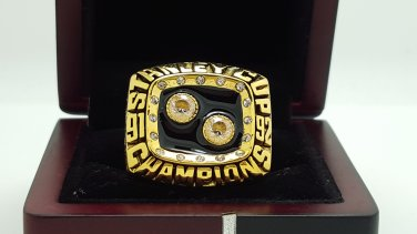 1992 Pittsburgh Penguins Hockey Stanely Cup Championship ring 8-14 Size