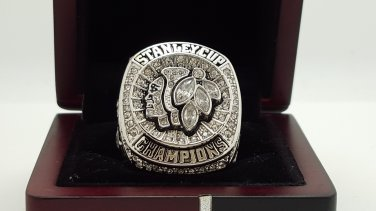 2015 Chicago Blackhawks stanely cup championship ring TOEWS SOLID 8-14S