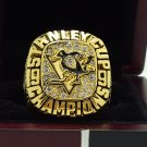 1991 Pittsburgh Penguins Hockey Stanely Cup Championship ring 8-14 Size