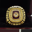 1988 Los Angeles Lakers  Basketball NBA Championship Ring 8-14 Size Name JOHNSON