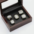 One set 5PCS 1981 1984 1988 1989 1994 San Francisco 49ers championship rings 10-13 size+box