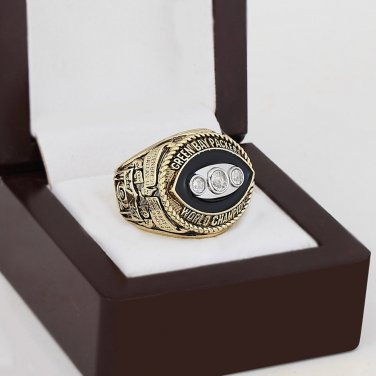 1967 Green bay packers world Championship Ring 10-13 Size with wooden case