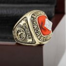 1982 ST LOUIS CARDINALS World Series Championship Ring Size 10-13 With a nice wooden case