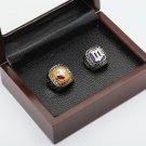 2PCS 1987 1991 MINNESOTA TWINS World Series Championship Ring Size 10-13 With wooden case