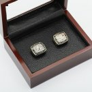 2PCS 1992 1993 TORONTO BLUE JAYS World Series Championship Ring Size 10-13 With wooden case