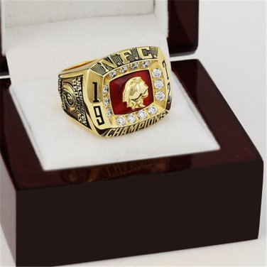 1972 Washington Redskins NFC Football Championship Ring Size 10-13 With a nice wooden case