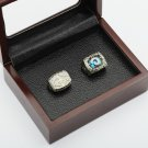 2 PCS 1979 1999 LOS ANGELES RAMS NFC Football Championship Ring Size 10-13 With a nice wooden case