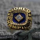 1978 New York Yankees world series Championship Ring Name MUNSON 12S