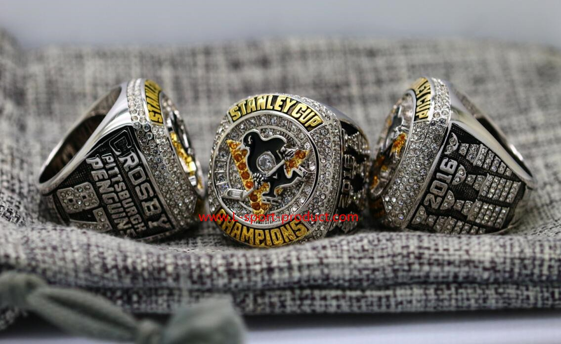 2016 Pittsburgh Penguins stanley cup championship ring 8 size CROSBY