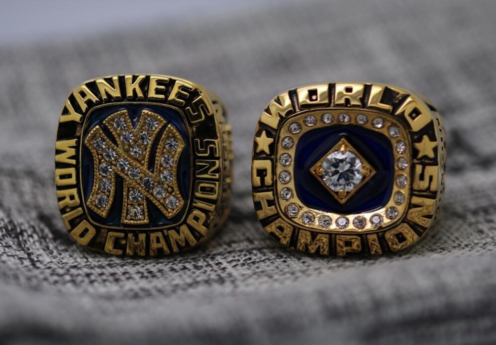 One Set 2 PCS 1977 1978 New York Yankees world series Championship Ring 8-14S MUNSON