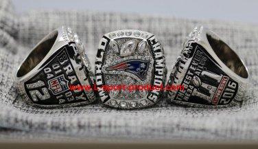 2017 New England Patriots super bowl championship ring 14S for Tom Brady
