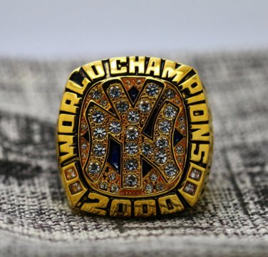 2000 New York Yankees world series Championship Ring Name Jeter 8-14S