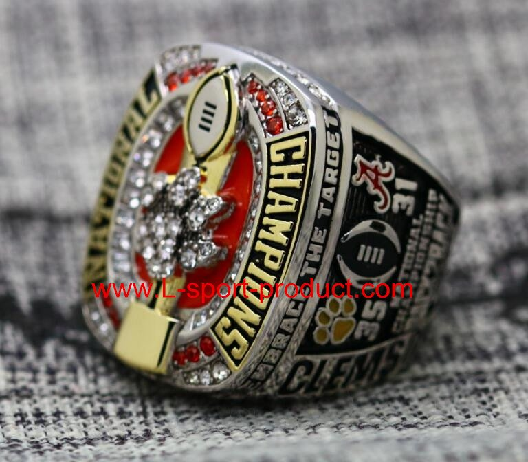 2016 2017 Clemson tigers NCAA championship ring 11S for WATSON COPPER VERSION