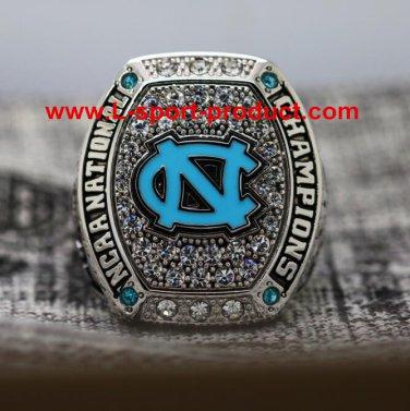 2016 North Carolina Tar Heels basketball National Championship rings 13 Size copper version