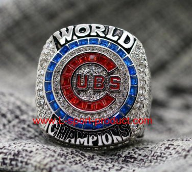 2016 Chicago Cubs MLB world series championship ring 8-14 Size copper MVP ZOBRIST
