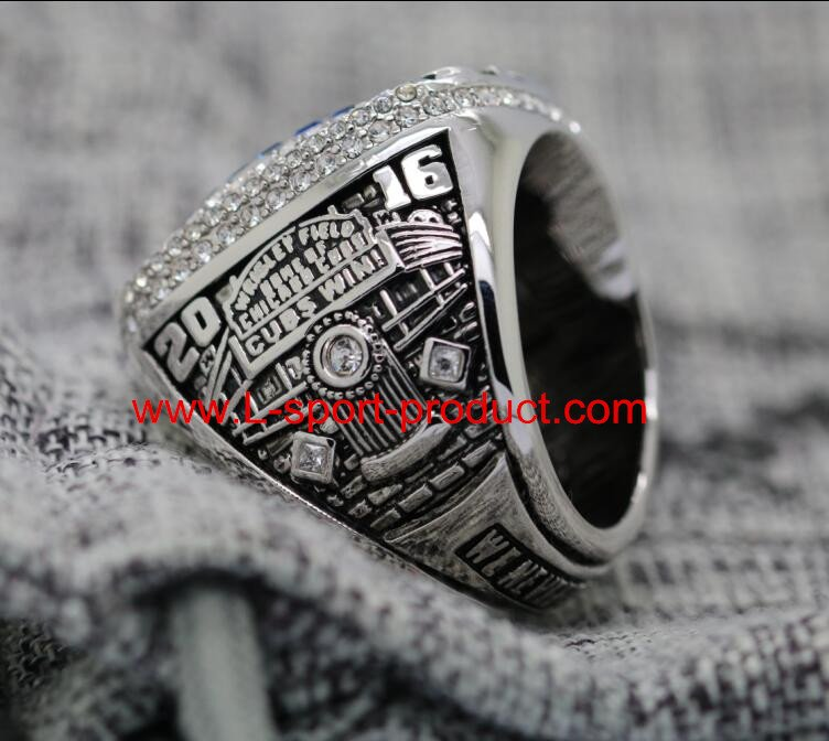 2016 Chicago Cubs MLB world series championship ring 8 Size copper MVP ZOBRIST