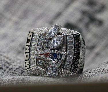2003 New England Patriots super bowl championship ring 8-14S in stock Tom Brady
