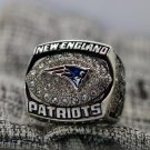 2007 New England Patriots NFC super bowl championship ring 8-14S in stock Tom Brady