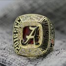 2016 2017 Alabama Crimson Tide SEC National Championship Ring 8-14S
