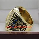 ON SALE 2017 Golden State Warriors basketball ring 12S STEPHEN CURRY