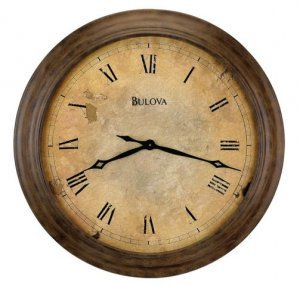 Wall Clock - Bulova Brisbane Wall Clock C4191