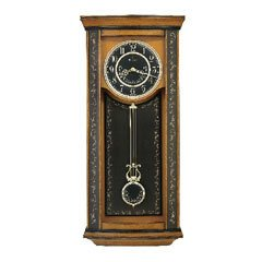 Bulova C4324 Millbridge Chiming Wall Clock