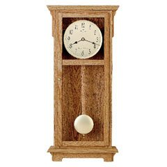 Bulova C4325 Cortland Wall Chime Clock