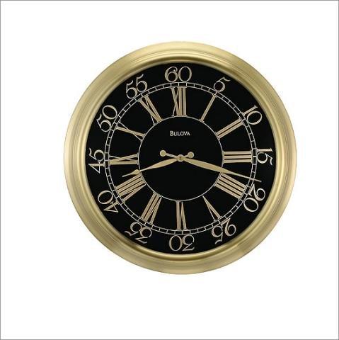 Bulova Grantham Wall Clock - C4190