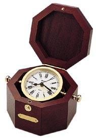 Bulova B7910 Quartermaster Mantel Clock