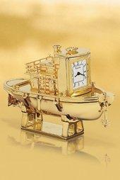 Bulova Tug Boat Miniature Clock - B0434